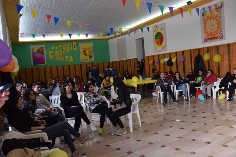 """Barcellona PG. """"Prima cena sociale"""" dei ragazzi del Servizio Civile Associazione """"Agorà- Oreto Onlus"""""""