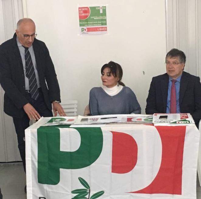 Barcellona PG. PD eletto Domenico Floramo Presidente Assemblea, presente l'on. Franco De Domenico