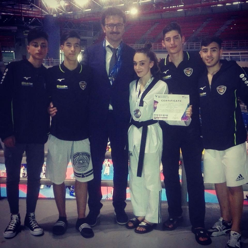 Barcellona PG. Successo per la Tiger's Den al President Cup Atene, bronzo e pass per campionati europei a Tindara Puliafito