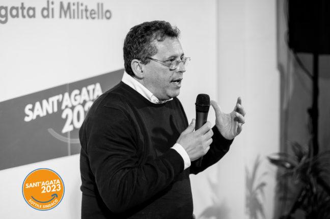 """Sant'Agata di Militello. Elezioni, Carmelo Sottile: """"Crediamo nella riconferma"""""""