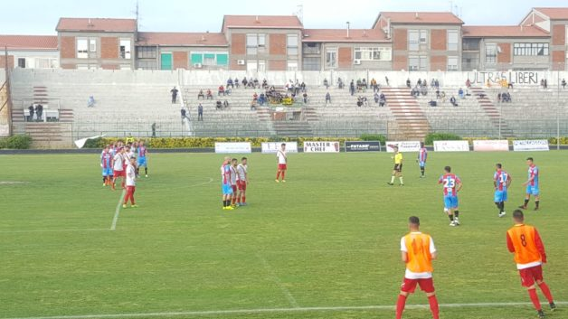 Calcio-Amichevole Pre-PlayOff. Un'ottima Igea Virtus beffata nel finale dal Catania
