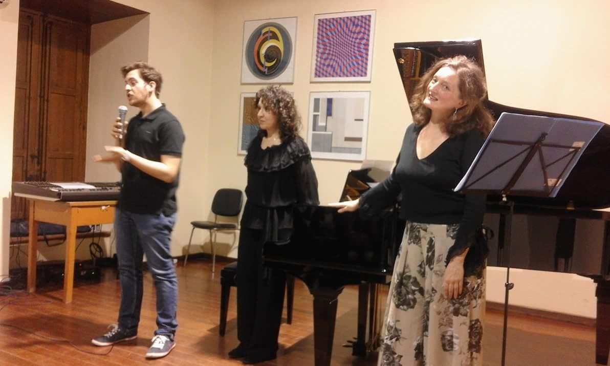 "Barcellona PG. Strepitoso successo per l'evento ""Duo Bel Canto"" con Sylvie Nicephor e Maria Assunta Munafò"