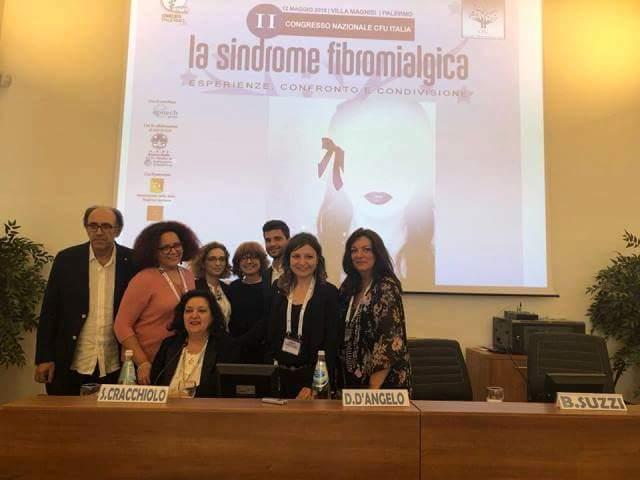 """Palermo. Grande successo per il II Congresso Nazionale CFU/Italia """"La sindrome fibromialgica """""""