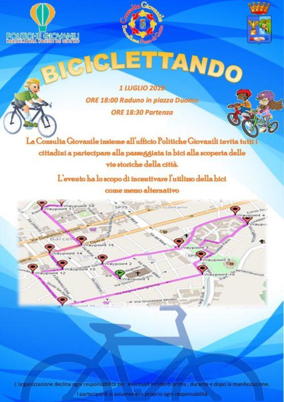 """Barcellona PG. 'Biciclettando', tutti in bici per """"incentivare mezzo alternativo"""" sostenibile e salutare.."""