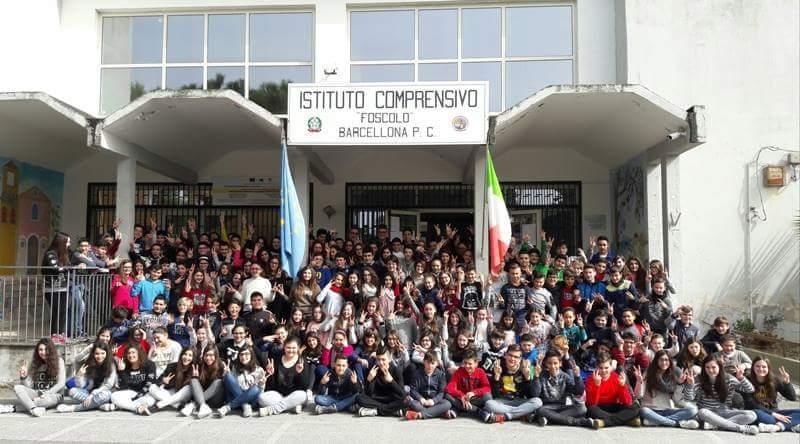 """Barcellona PG. La Secondaria di I grado """"Foscolo"""" vince il Campionato Nazionale delle Scuole di """"Repubblica@Scuola 2017/2018"""""""