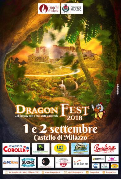 Dragon Fest 2018, le novità della terza edizione l'1 e 2 settembre al Castello di Milazzo