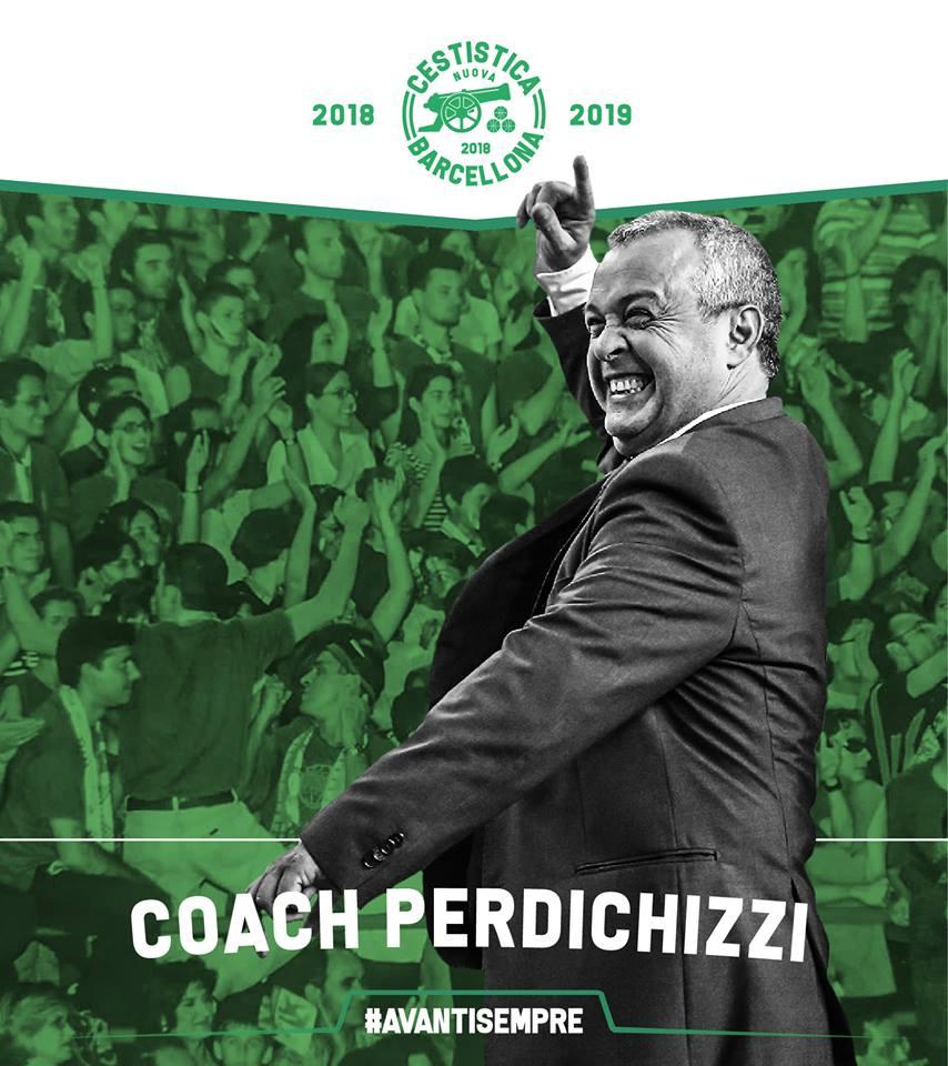 Basket. Nuova Cestistica, biennale per Coach Perdichizzi