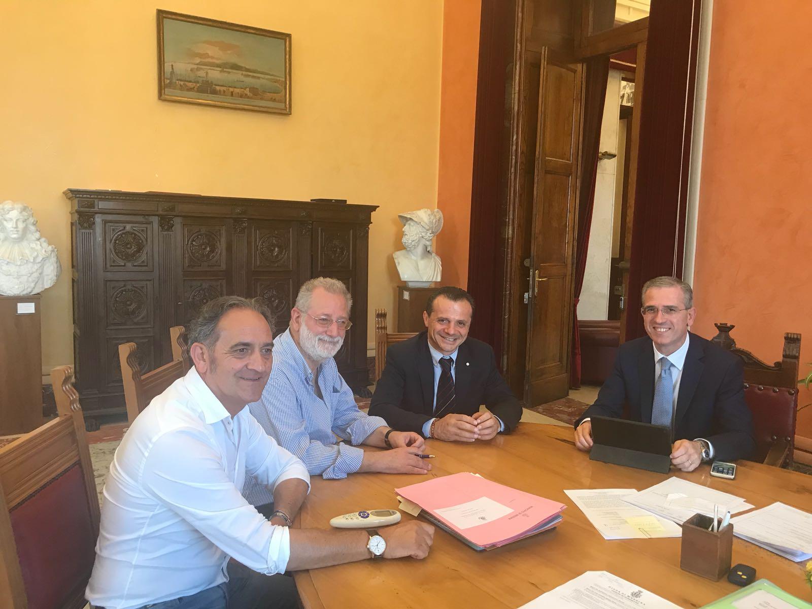 Infrastrutture della Città Metropolitana di Messina, incontro Assessore regionale Falcone e Sindaco metropolitano