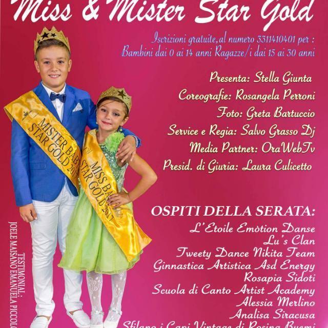 """Terme Vigliatore. Al via la V° Edizione """"Miss e Mister Star Gold"""", il concorso di bellezza per bambini"""