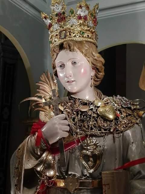 Patti. La Festa di Santa Febronia 2018. L'arrivo delle Sacre Reliquie e l'Inno alla Patrona di Daniele Greco