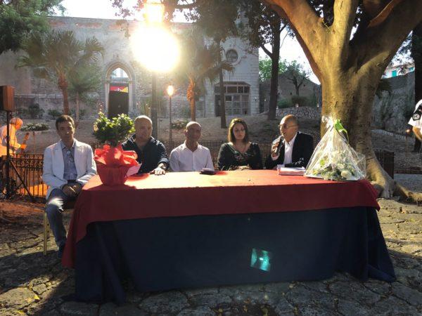 """Milazzo. Cerimonia di riapertura dei Giardini di Villa Vaccarino: """"Recupero di un pezzo della storia mamertina"""""""