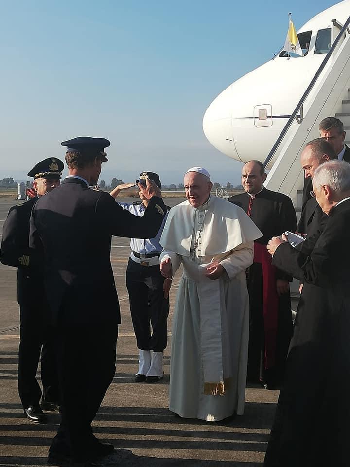 Papa Francesco in Sicilia, all'Angelus ringrazia il meraviglioso popolo siculo
