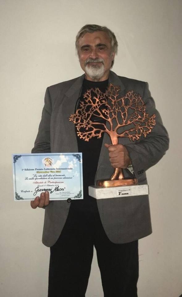 """Premiazione I^ Edizione Premio Letterario Internazionale """"Giovannino vive 2018"""", la lettera di Giovanni Macrì"""
