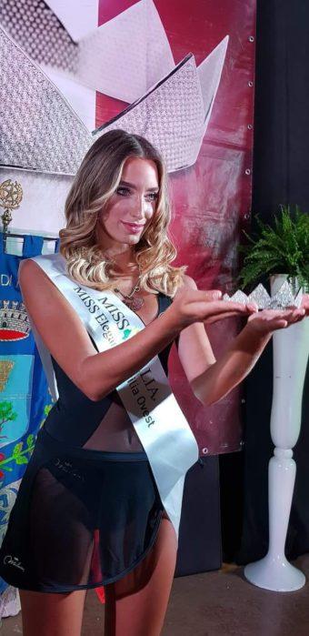 """Bellezza. La spadaforese Valeria Cordaro approda alle prefinali di """"Miss Italia"""""""