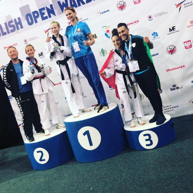 Barcellona PG. Taekwondo, medaglie per la Dream Team al Polish Open 2018 di Varsavia
