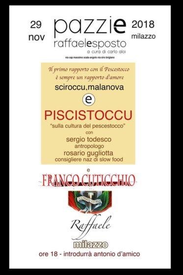 """Milazzo. Il """"Piscistoccu"""": l'essenza di un'Identità culturale espressa dall'Arte"""