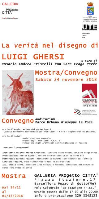 Barcellona PG. Luigi Ghersi in GALLERIA PROgetto CITTA'