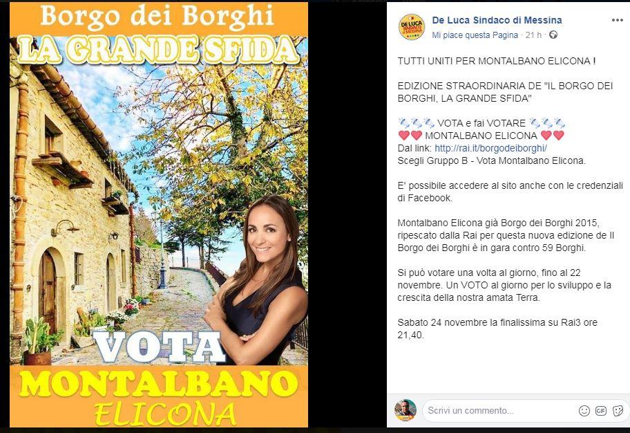 """Montalbano Elicona. Rush finale al Borgo dei Borghi, La Grande Sfida: """"Si spera nel successo"""""""