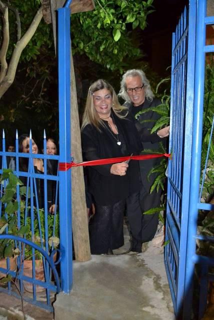 """Barcellona PG. Inaugurato il """"Giardino di Salva"""" nuova opera di Nino Abbate"""
