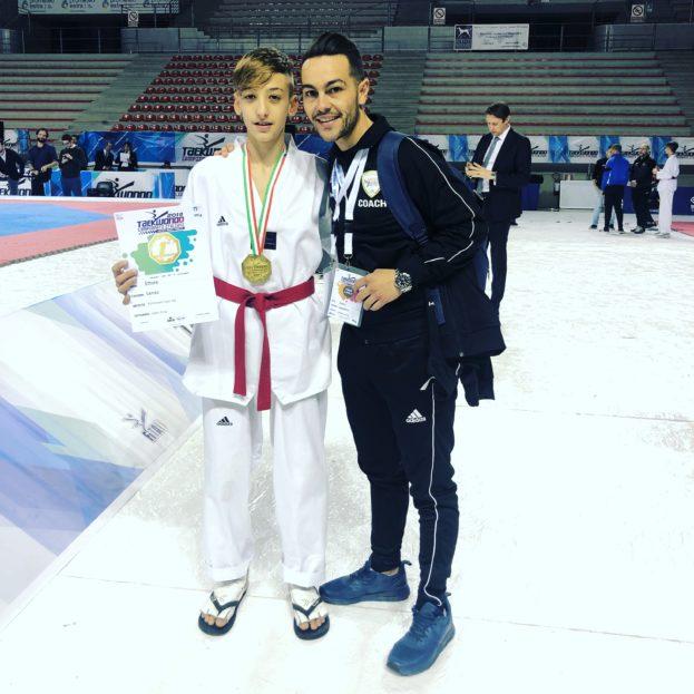 Barcellona PG. Taekwondo, soddisfazioni 'Dream Team' con Ettore Lenzo campione d'Italia