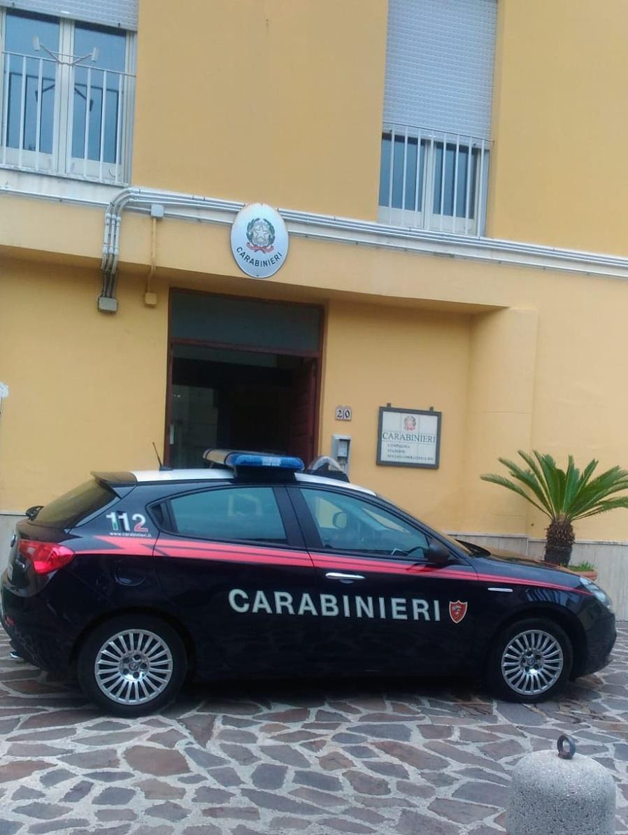 Sinagra. Carabinieri, ordinanza cautelare in carcere a uomo sottoposto ad arresti domiciliari che minaccia di morte ex moglie