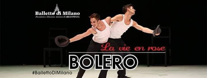 """Barcellona PG. """"La vie en rose… BOLERO"""" con il Balletto di Milano al Teatro Mandanici"""