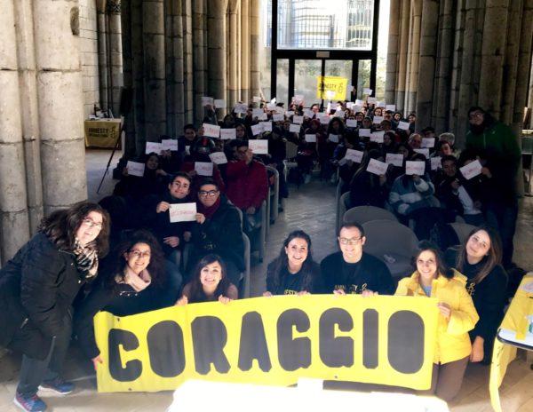 """Barcellona PG. Progetto """"Contaminetion Messina"""" di Amnesty International, studenti 'Fermi' promotori di diritti umani"""