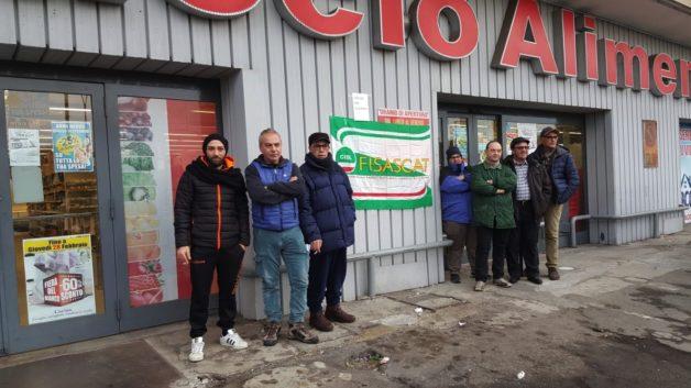"""Crisi Spaccio Alimentare, sciopero lavoratori incertezze su stipendi e futuro. D'Agostino: """"Nessun piano di investimento"""""""