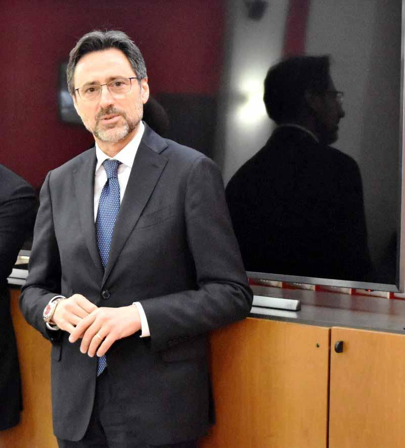 Tabella di marcia intensa per il nuovo Questore di Messina Vito Calvino, incontro con Ministro Toninelli e conferenza di presentazione