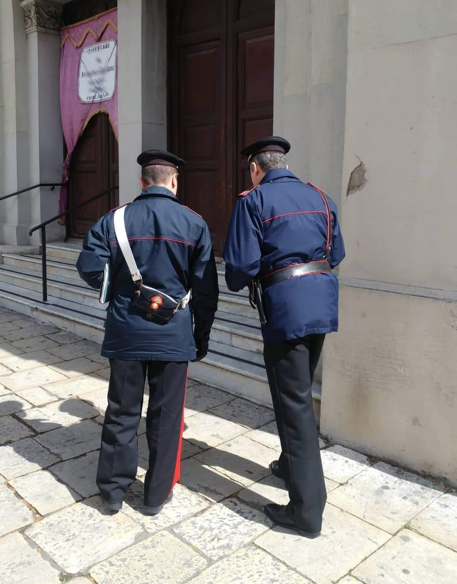 Messina. Ruba offerte dei fedeli in Chiesa, 57enne denunciato dai Carabinieri