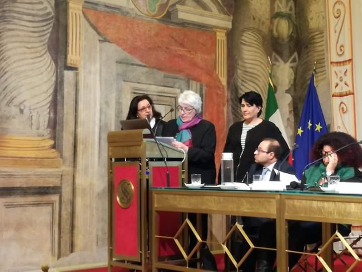 """Roma. Convegno Scientifico """"Sensibilità Chimica Multipla"""" a Palazzo Giustiniani. Parla Serafina Cracchiolo, vicepresidente CFU-Italia"""