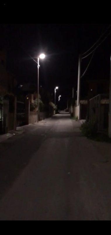 """Barcellona PG. Illuminazione pubblica d Contrada Cavaliere, Comune: """"Finita attesa di due decenni"""""""