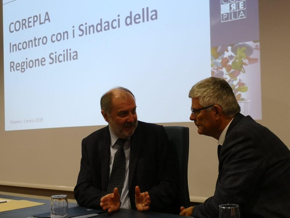 """Sicilia. Raccolta differenziata, sindaci e consorzi a confronto: """"Nel 2018 raccolte 210 mila tonnellate, introito di 21 milioni"""". Pierobon: """"3% in più valgono 100 milioni per Comuni"""""""