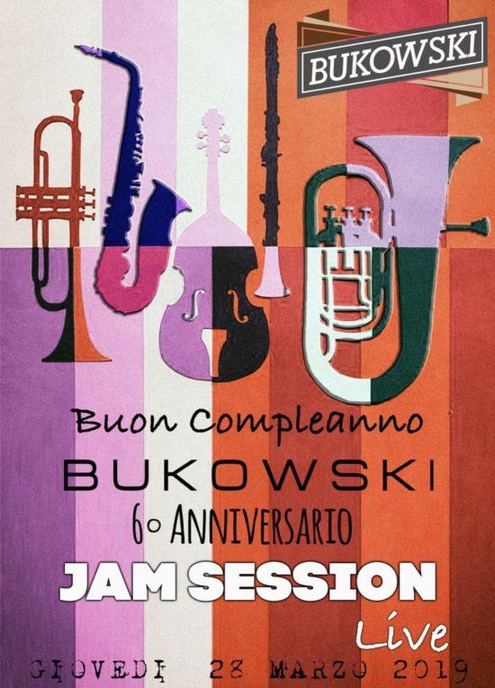 """Serata-Evento tra musica ed emozioni, 'Jam Session' per festeggiare 6 anni di Bukowski e chiudere l'avventura targata Fratelli Lanza: """"Orgogliosi di un esperienza intensa, unica ed irripetibile"""""""