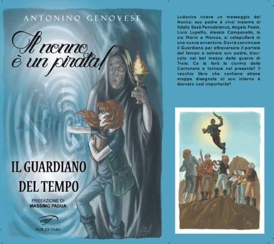 """In libreria """"Il guardiano del tempo"""", il nuovo libro di Antonino Genovese"""