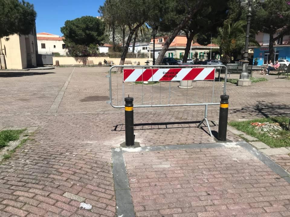 """Milazzo. Vigilanza ambientale, convenzione con l'associazione """"Volontariato Milazzo"""". Interdetto l'accesso delle auto in piazza San Papino"""
