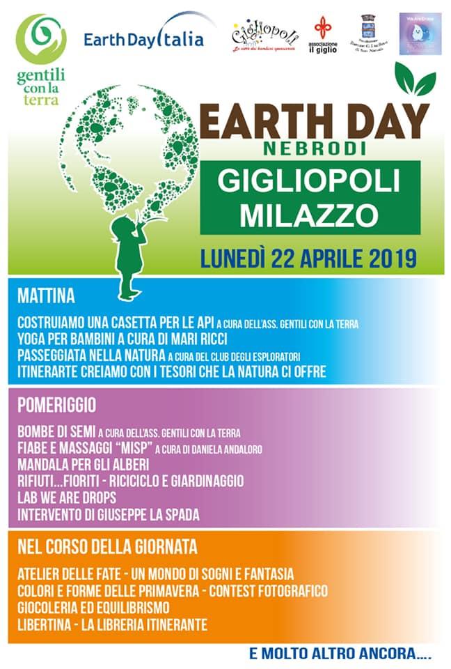 Earth Day a Milazzo. Al via da Gigliopoli le celebrazioni della Giornata della Terra