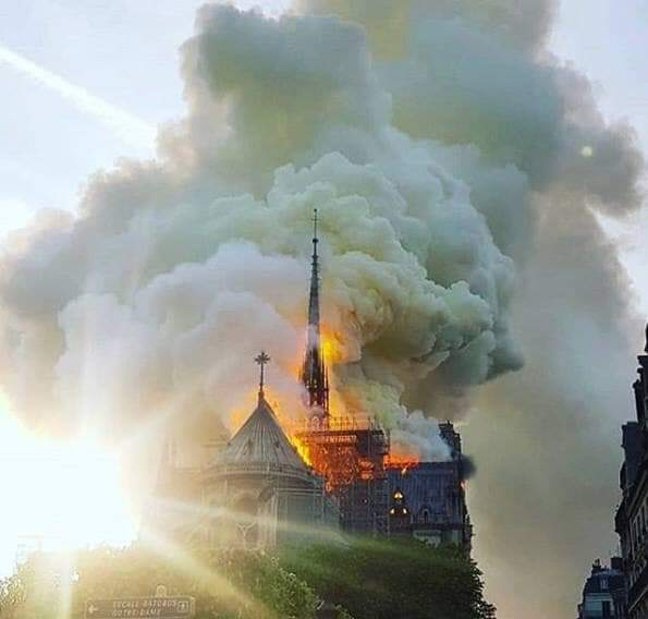 """Notre-Dame de Paris è Viva… la Storia resisterà alle miserie dei """"cosiddetti umani"""""""