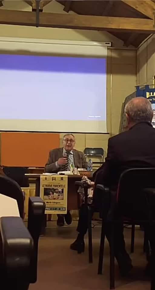 """Barcellona PG. La conferenza del Prof. Mario Calogero su """"Le nuove parentele"""" all'Università della Terza Età"""