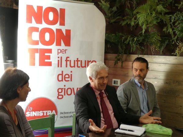 Elezioni Europee. Corradino Mineo e Matteo Ianniti hanno presentato a Messina La Sinistra