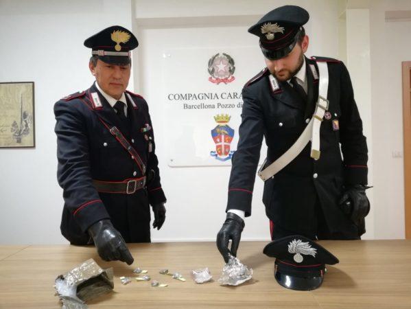 Milazzo. Droga nascosta in negozio di prodotti per animali, arrestato dai Carabinieri
