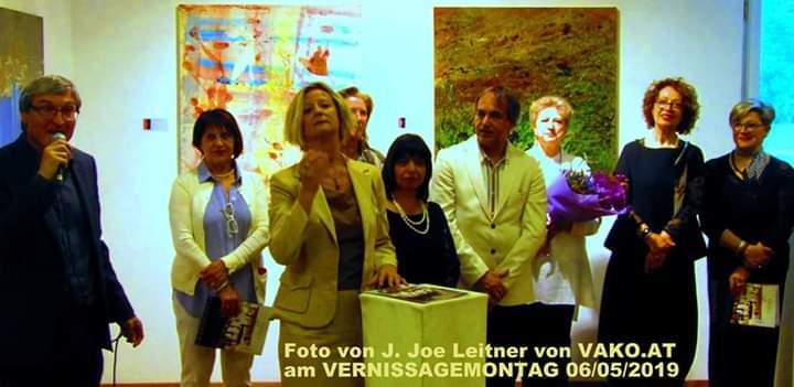 """Vienna. La Mostra """"Artisti Med in Tour"""" (Dir.Artistico Andrea Calabrò) alla Galleria Kunstraum"""
