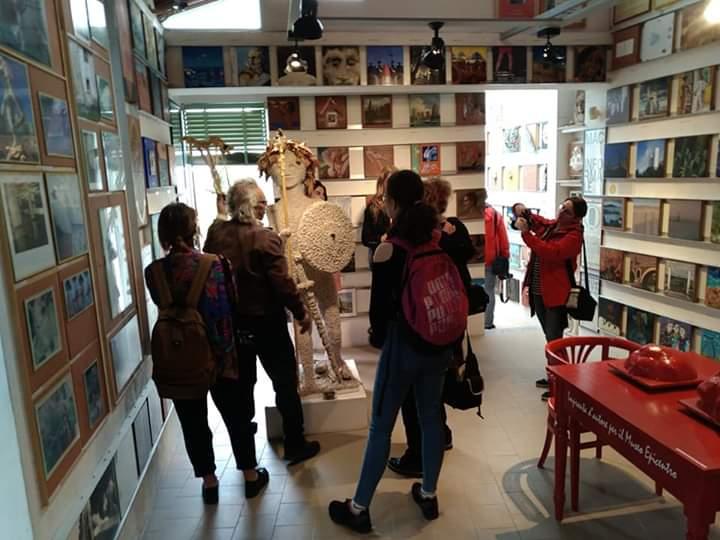 Barcellona PG. Studenti del gruppo polacco EProjectConsult in visita al Museo Epicentro di Gala