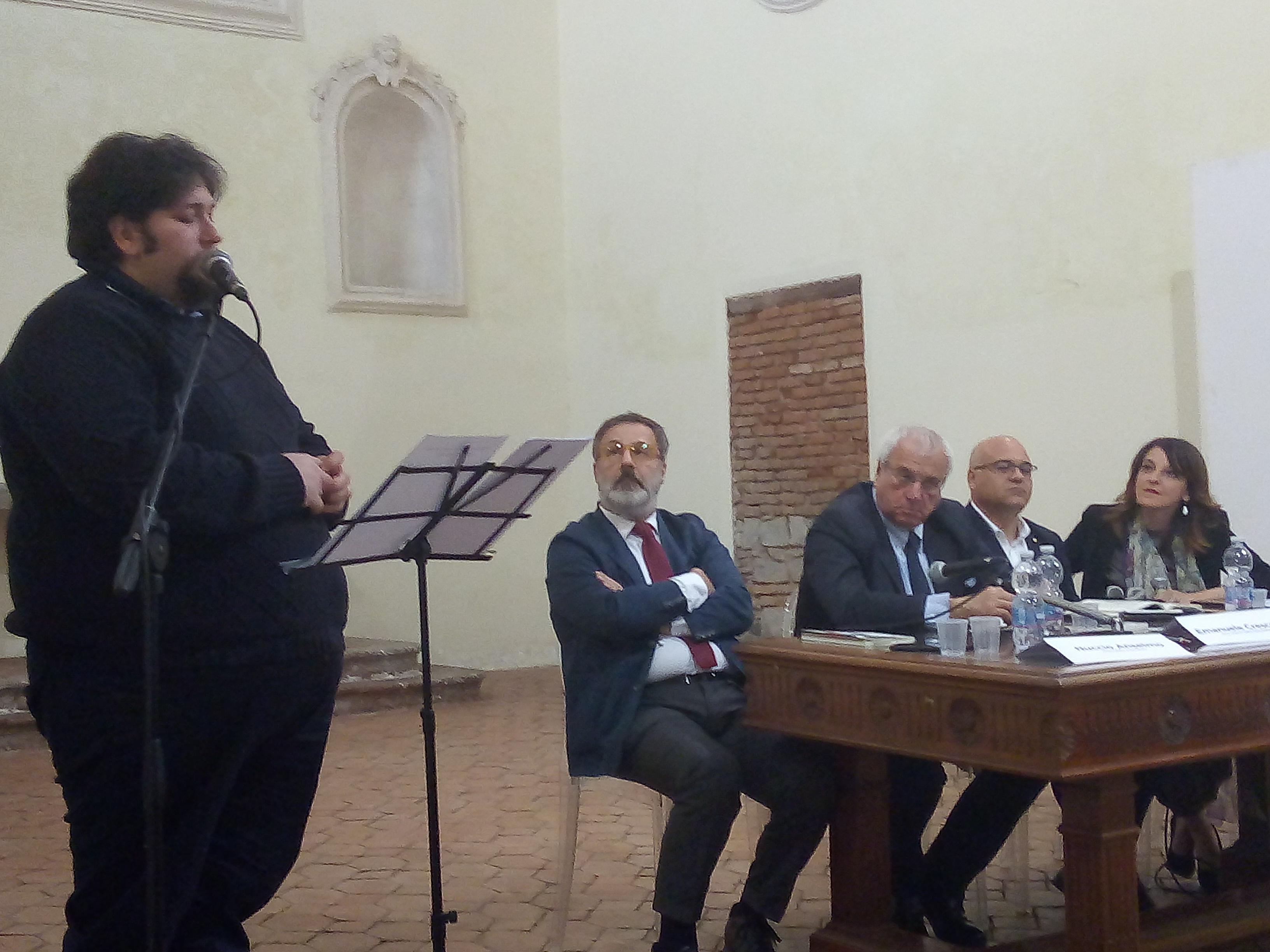 """Barcellona PG. """"La mafia dei pascoli"""" di Nuccio Anselmo e Giuseppe Antoci presentato all'Auditorium San Vito"""