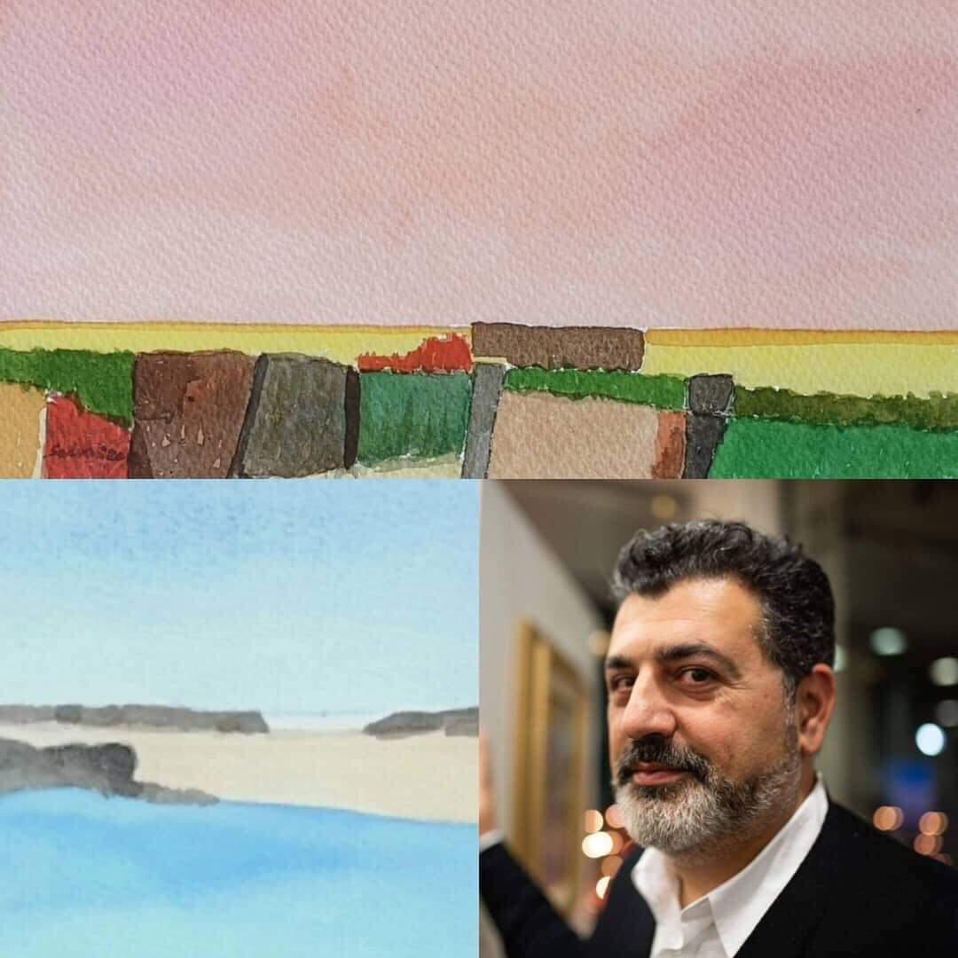 """Pistoia. Inaugurata la Mostra personale di Pittura dell'artista Peppe Salvo """"Arte in Anticamera"""""""