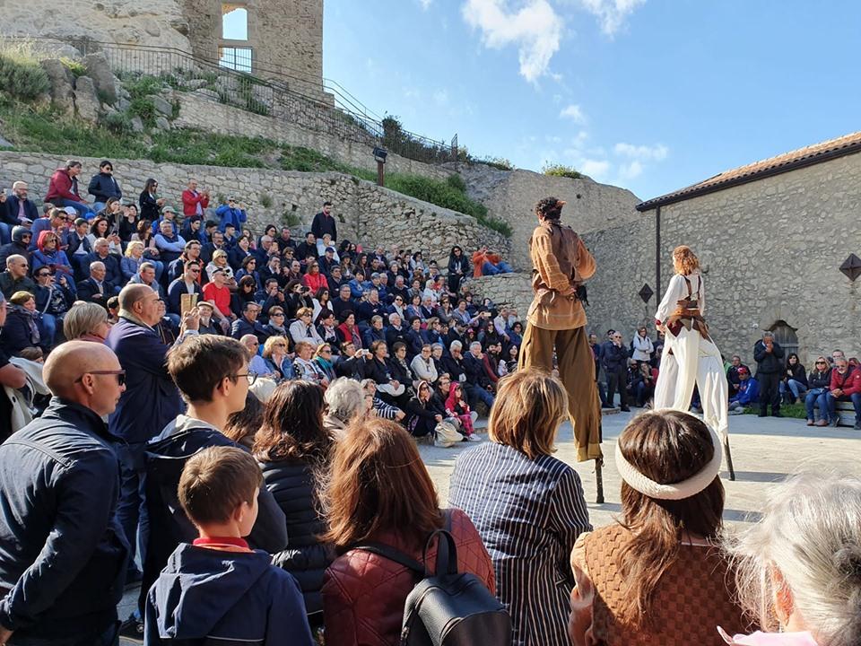Montalbano Elicona, altro grande successo per l'evento Viaggio nel Medioevo