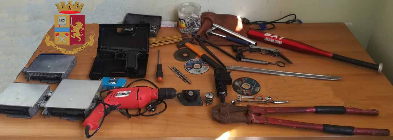 Polizia esegue ordinanza di aggravamento di misura, arresti domiciliari 43enne che ruba auto