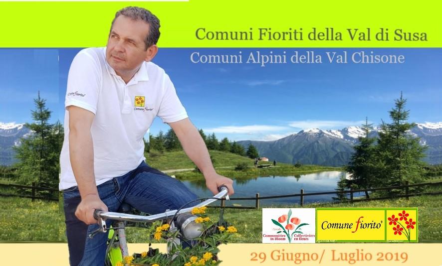 """Verso le Alpi per le visite mondiali """"Communities in Bloom"""""""