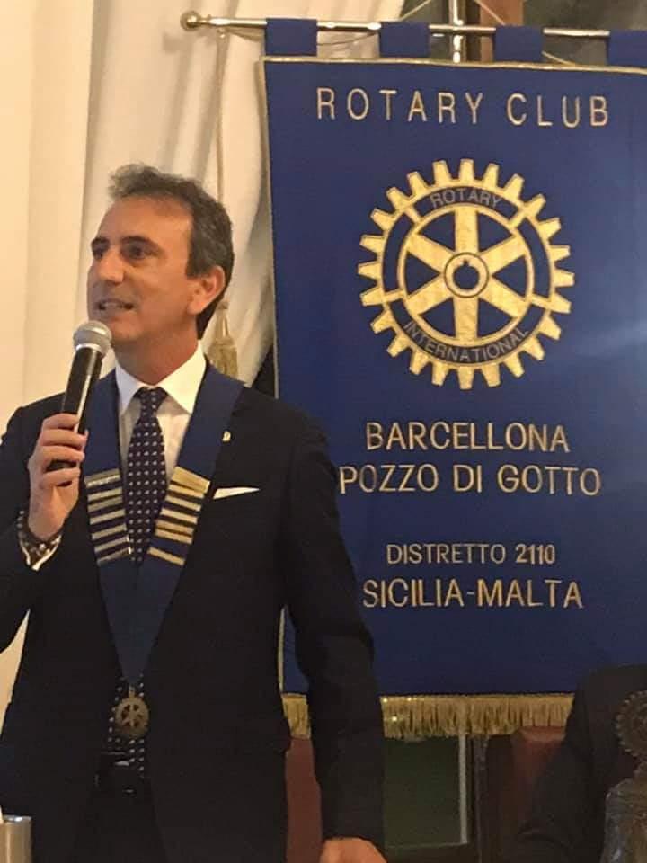 Attilio Liga eletto Presidente del Rotary Club di Barcellona Pozzo di Gotto