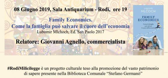 #RodìMilicilegge, incontro su economia e famiglia